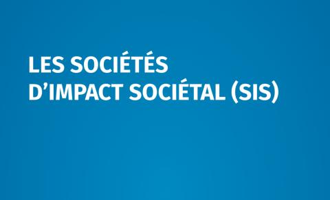 La société d'impact sociétal