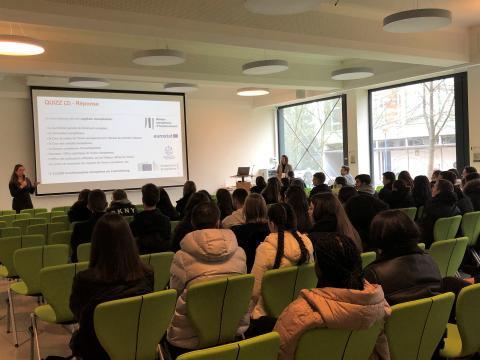 Relation école-entreprise : L'Atelier deux en un: L'Economie luxembourgeoise - Did you know ? & L'Entrepreneuriat - Ready for business ?