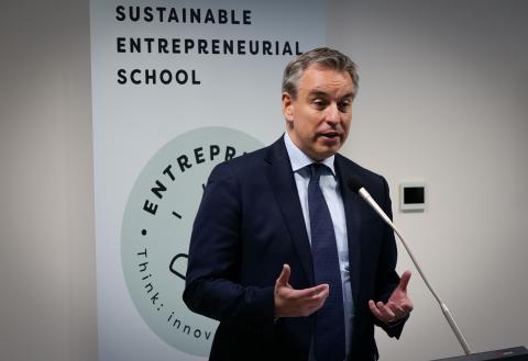 Éischten nationalen Sustainable Entrepreneurial School Dag